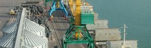 Расширение порта Актау в Казахстане