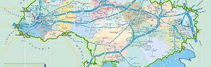 Строительство транзитных коридоров в Украине